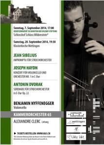 Benjamin Nyffenegger spielt Haydn