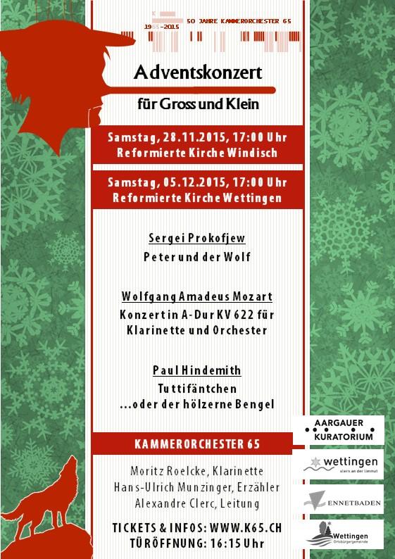 K65 - Das Orchester für musikbegeisterte Amateure in Baden-Wettingen (Aargau/Schweiz) und Umgebung