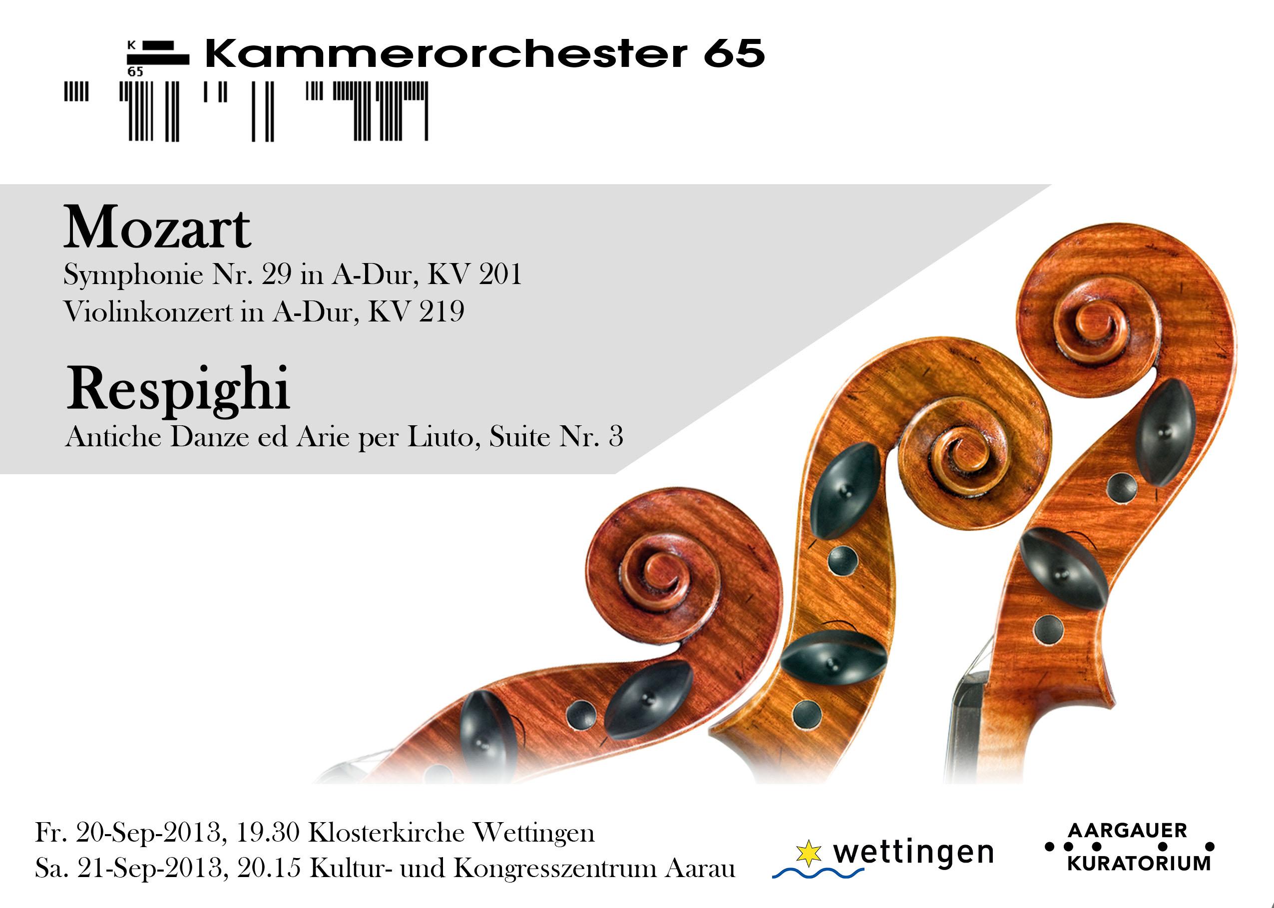 Orchesterkonzert Mozart & Respighi - Recto