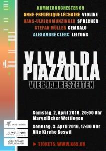 Vivaldi  |  Piazzolla: Vier Jahreszeiten