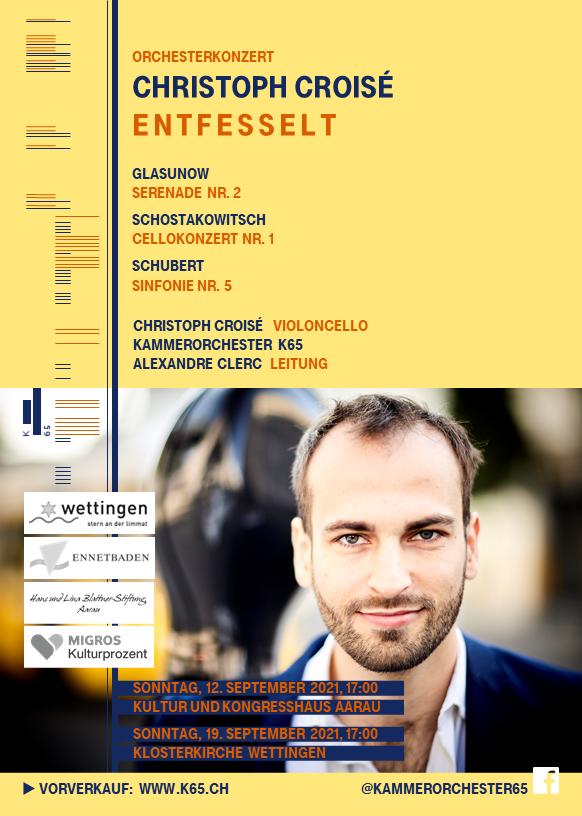 KAMMERORCHESTER K65 Das Orchester für Musikbegeisterte in Baden-Wettingen (Aargau/Schweiz) und Umgebung